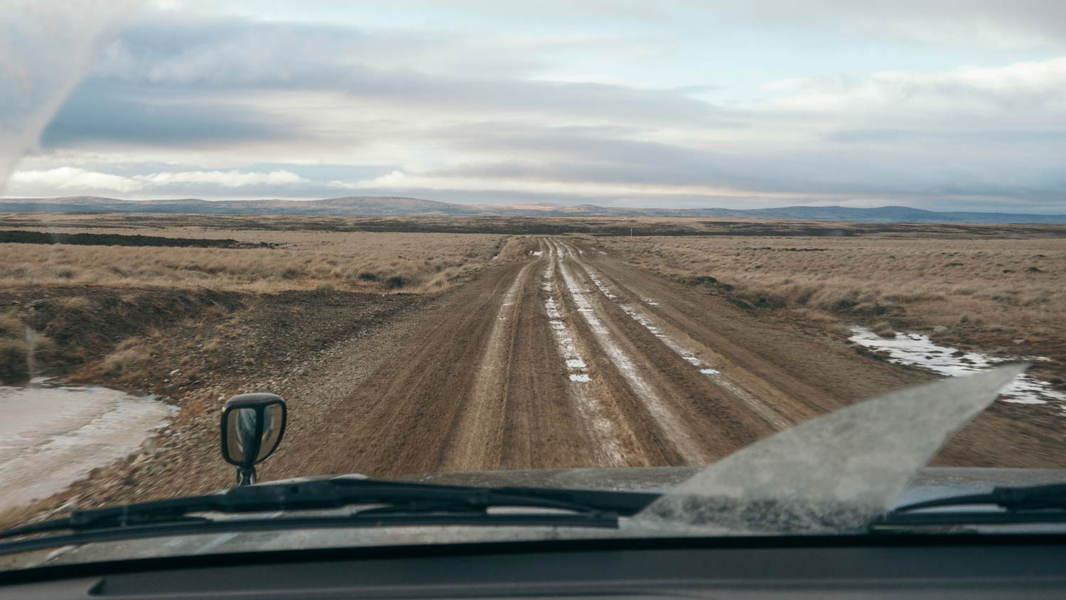 4 by 4 driving on a dirt road